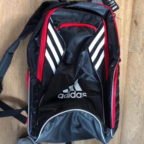b01e54a7643b adidas Tour Tennis Racquet backpack